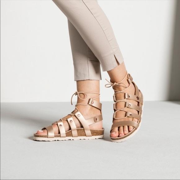 a7bb24a5482 NEW Papillio Birkenstock Cleo Gladiator Sandal